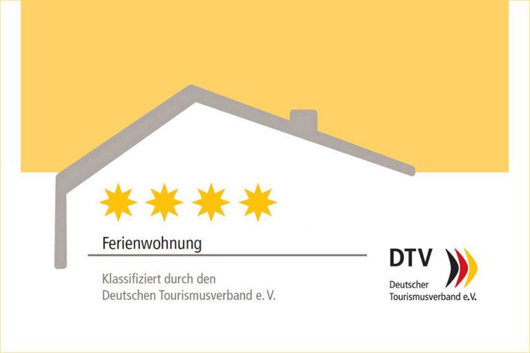 Deutscher Tourismusverband e.V. - 4 Sterne-Bewertung